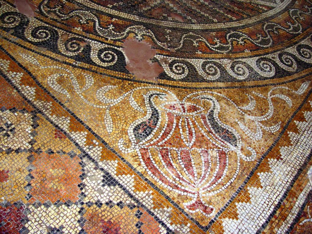 Ancient floor mosaics