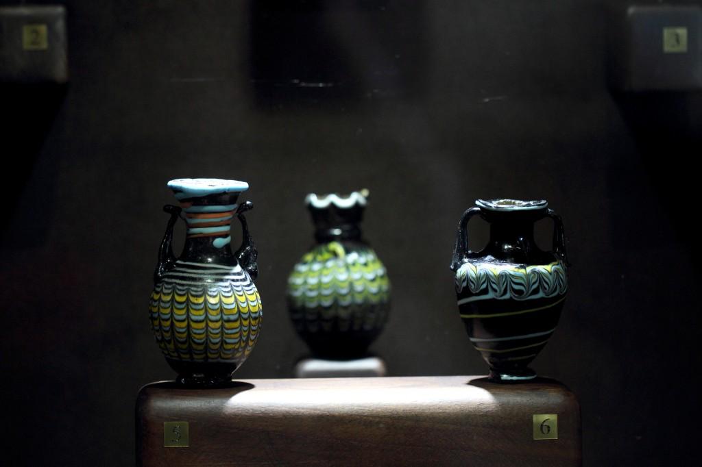 Тракарт антично стъкло